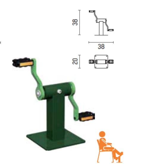 biosaludable pedales de sergin